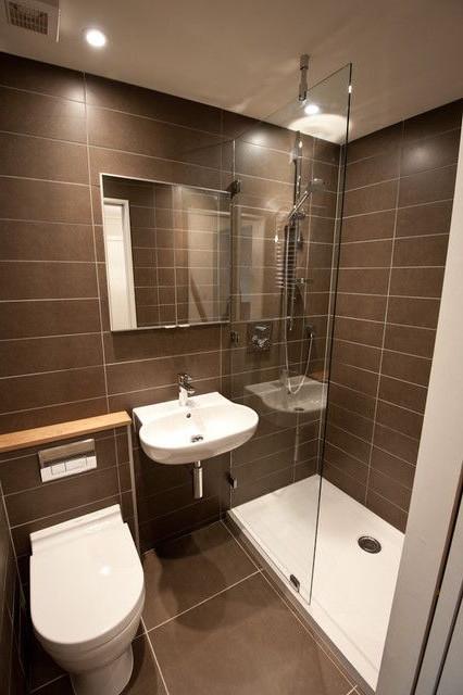 Anche un bagno di piccole dimensioni può essere bello e funzionale