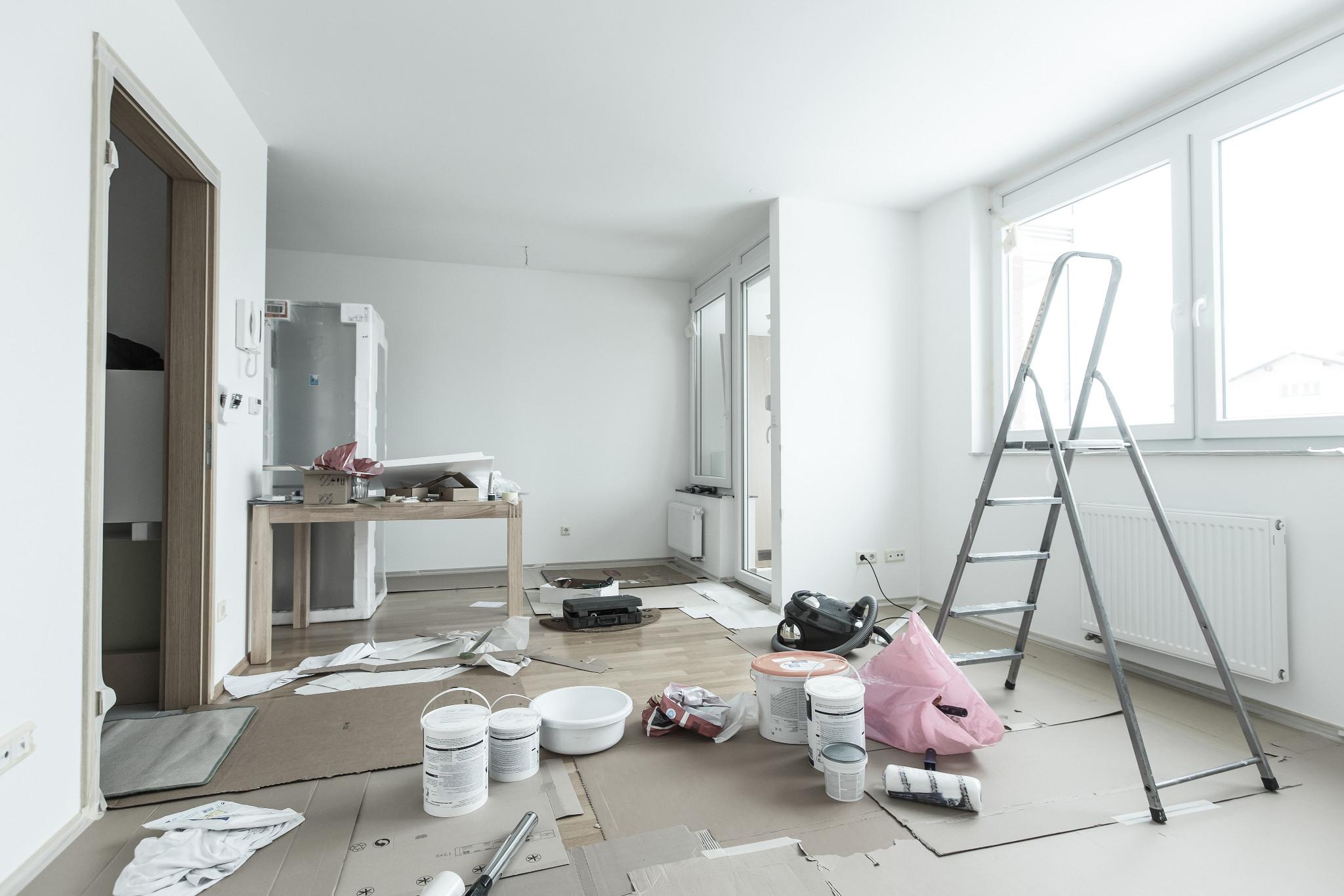 tinteggiatura appartamento